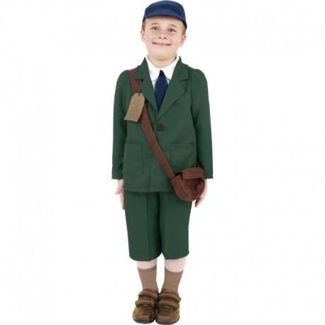 World War II Evacuee Boy