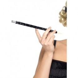 Black Sequinned Cigarette Holder